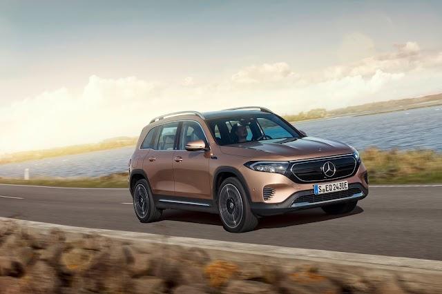 Tamamen elektrikli yedi kişilik kompakt SUV, Yeni Mercedes EQB tanıtıldı