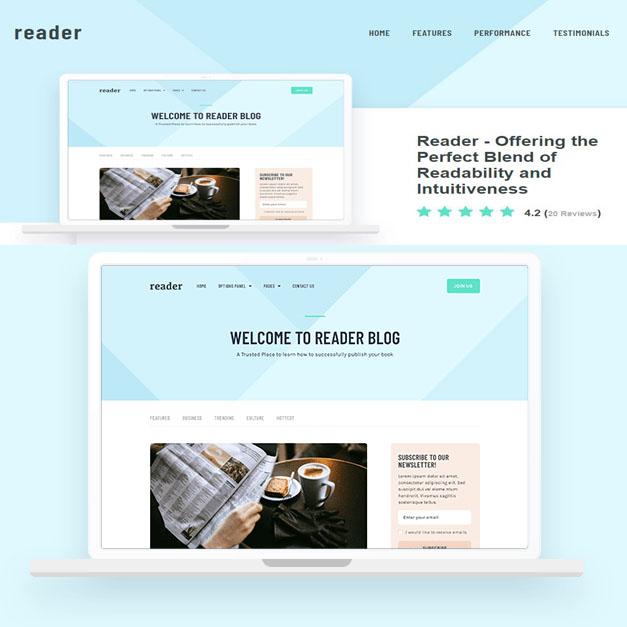 Reader – Combinación perfecta de legibilidad e intuición