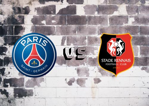 PSG vs Rennes  Resumen y Partido Completo