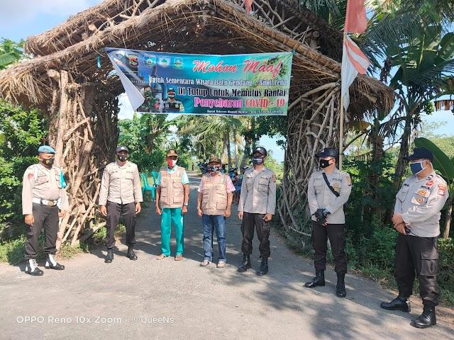 Antisipasi Limpahan Pengunjung Wisata Pantai, Wisata Giri Sasak Kuripan Diperketat.
