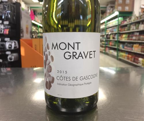 Mont Gravet Cotes de Gascogne 2015