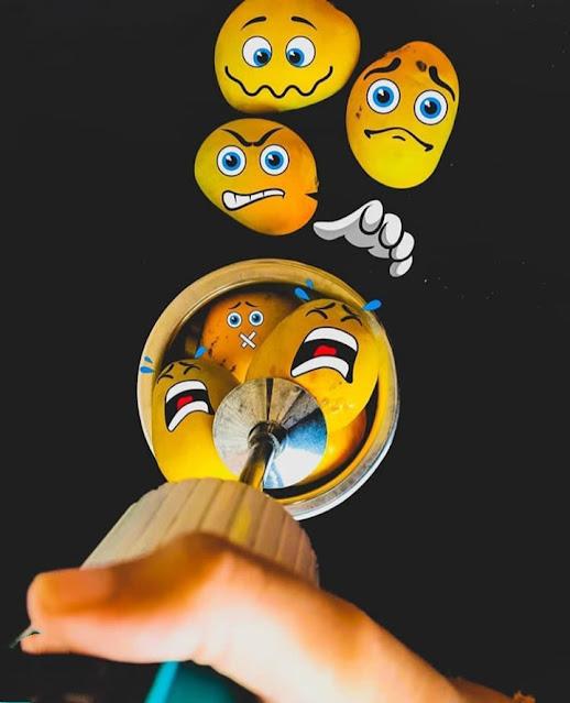 Creative Mango Emoji