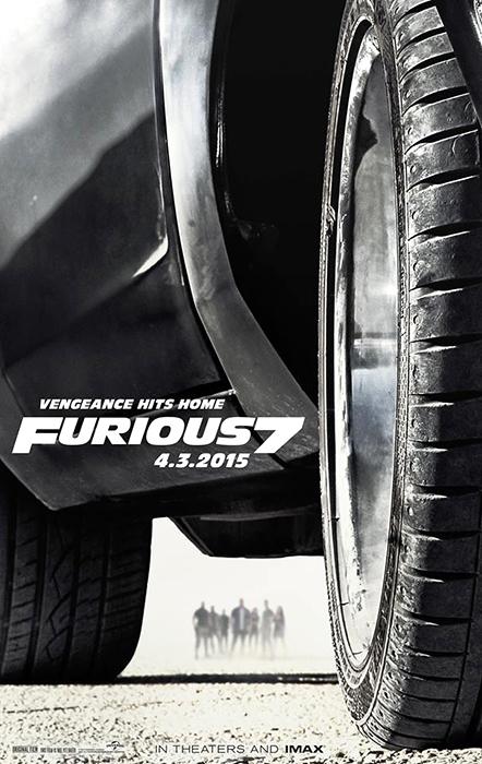 Primul Poster Oficial Pentru FURIOUS 7