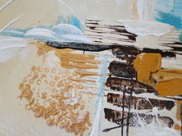 détail peinture abstraite