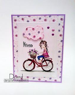 Danijela All Dressed Up  Girl On A bike