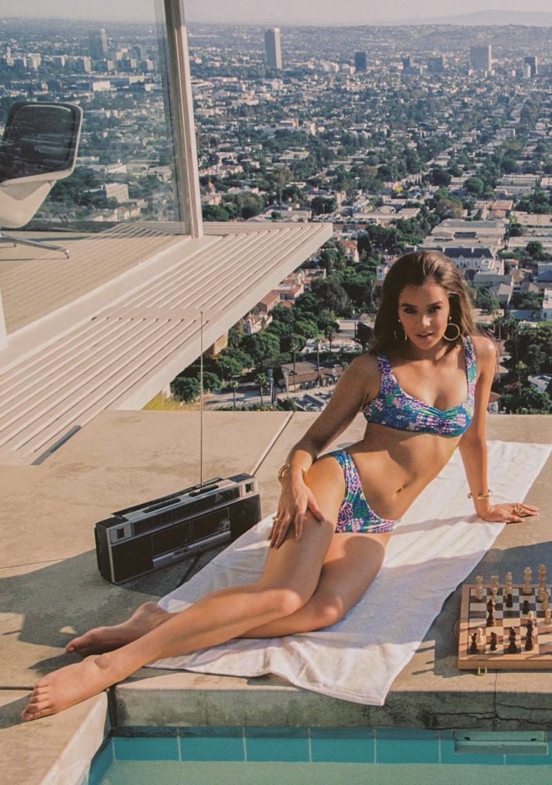 Hailee Steinfeld x Frankies Bikinis Campaign