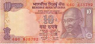 10 rupias