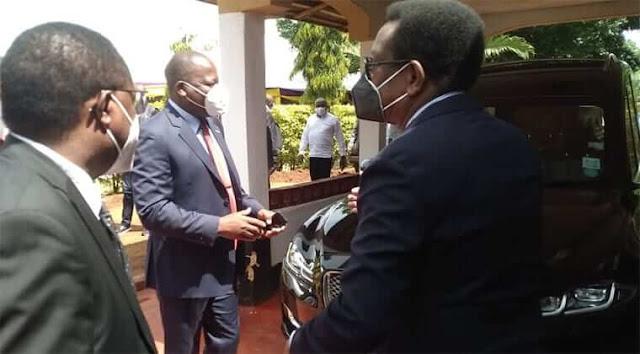 Health CS Mutahi Kagwe photo in Embu