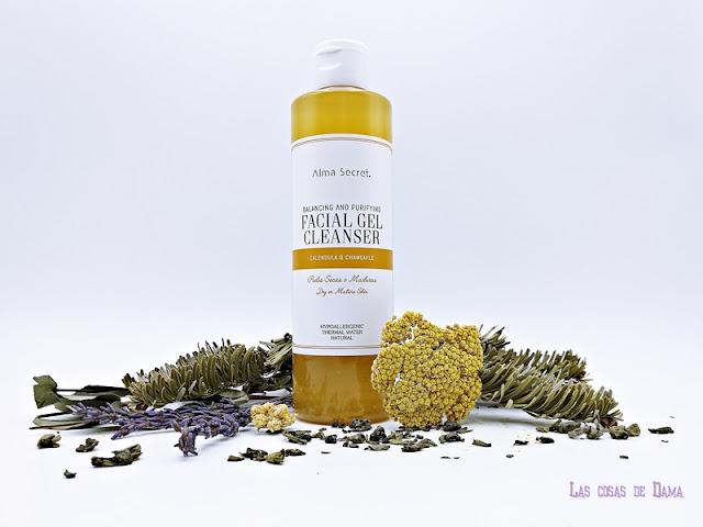 Alma Secret  Gel Limpiador Facial Ultra Suave Calmante pieles sensibles secas maduras skincare beauty