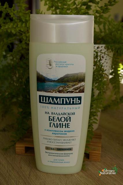 Fitokosmetik - Szampon na białej glince wałdajskiej