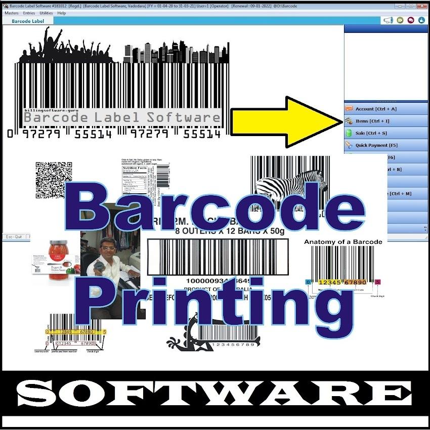 Barcode Label Design List