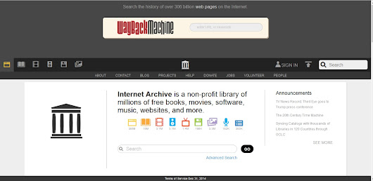 Archive.org The Wayback Machine