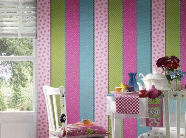 اهمية ورق الحائط لتصميم ديكور المنزل