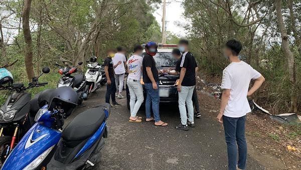 彰化139縣道11車友違規群聚 彰警開出稽查單至少罰66萬