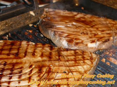 Grilled Tuna Steak, Inihaw na Bariles - Cooking Procedure