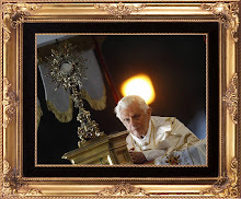 Pope Benedict XVI inspired this blog.