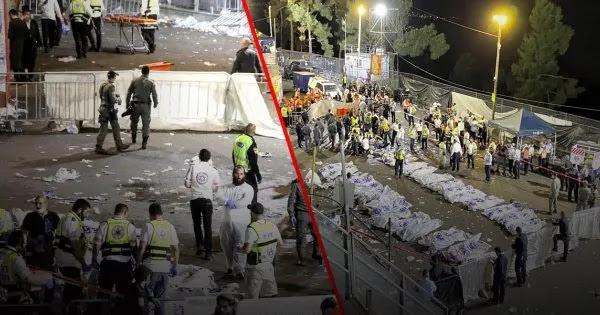 Ισραήλ: Τουλάχιστον 44 νεκροί από γιγαντιαίο ποδοπάτημα (!) (vid)