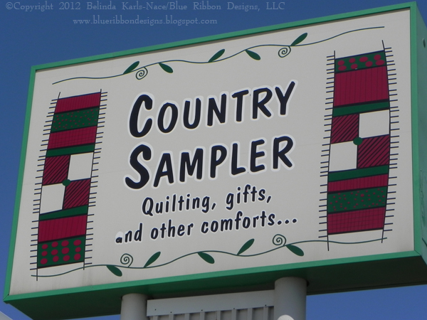 Samplings From A Blue Ribbon Girl: AccuQuilt Let's GO! Retreat at ... : country traditions quilt shop - Adamdwight.com