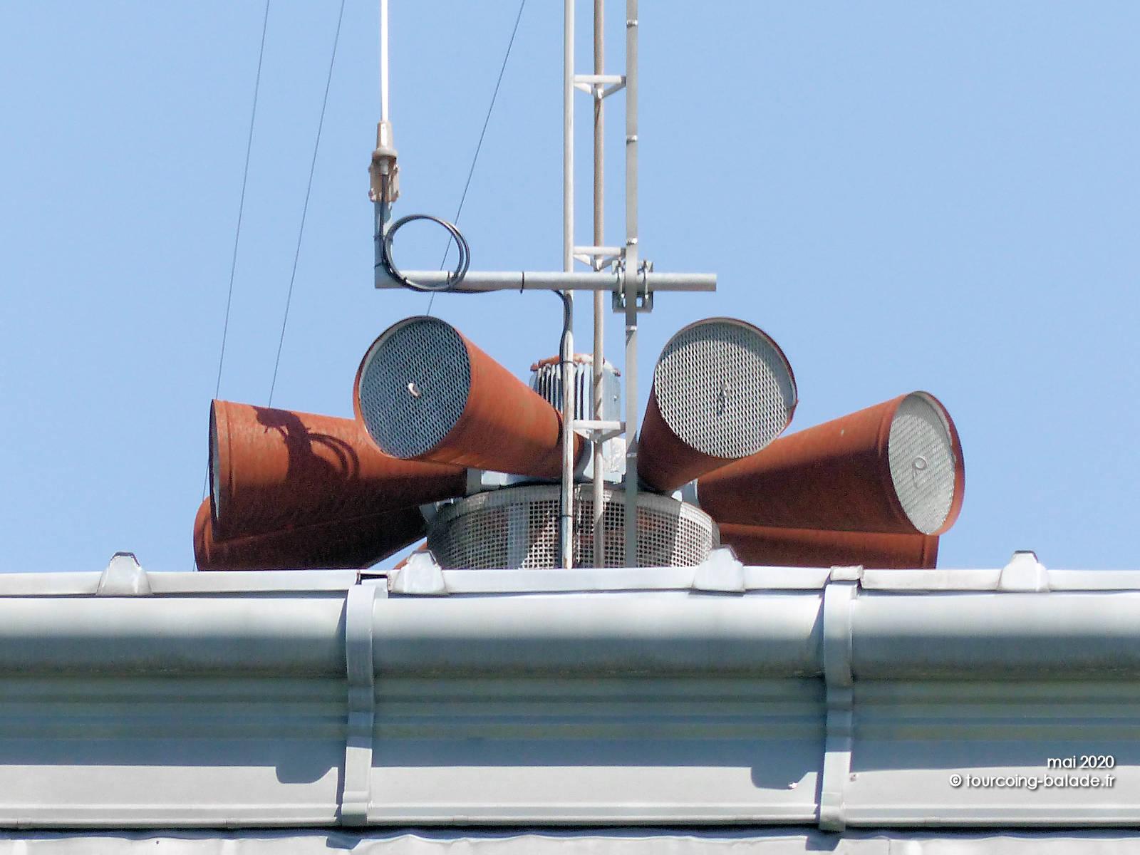 Sirènes de sécurité civile SAIP Mouvaux 2020