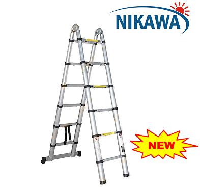 Thang nhôm rút gọn Nikawa NK-50AI