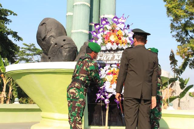 Ziarah Nasional Peringatan HUT Ke-74 Tentara Nasional Indonesia