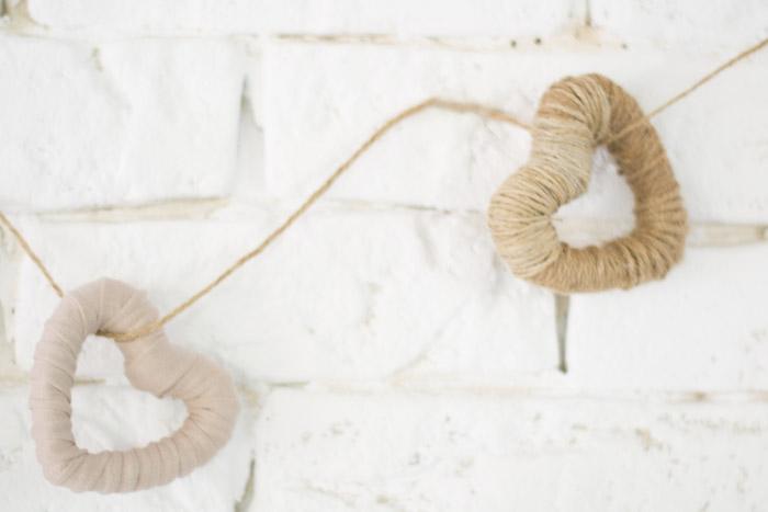 Guirnalda cuerda y trapillo diy