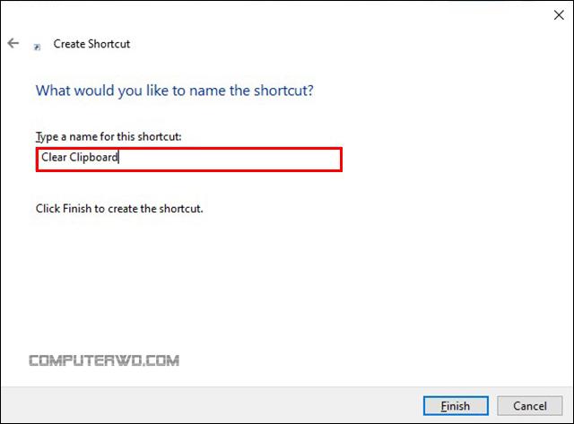 طرق التخلص من محتوي ذاكرة Clipboard بنظام ويندوز computer-wd عالم الكمبيوتر shortcut2