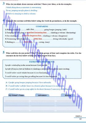 8. Sınıf İngilizce Tutku Yayınları Ders Kitabı Cevapları Sayfa 63