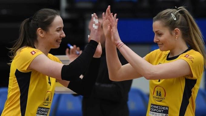 Női röplabda: meglepetésre készül az elődöntős Kaposvár Romániában