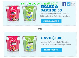 Glade coupons for april 2017