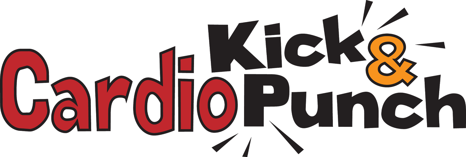 Cardio Kick and Punch fitness class logo by Sarah Pecorino for The Zoo Health Club NH