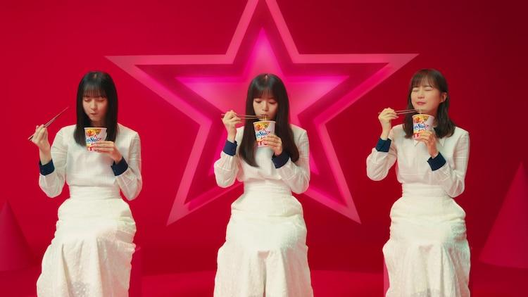 Inilah Penampilan Nogizaka46 Erika Ikuta, Asuka Saito, Sakura Endo Dalam Iklan Cup Star