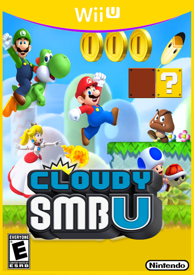 Cloudy Super Mario Bros U