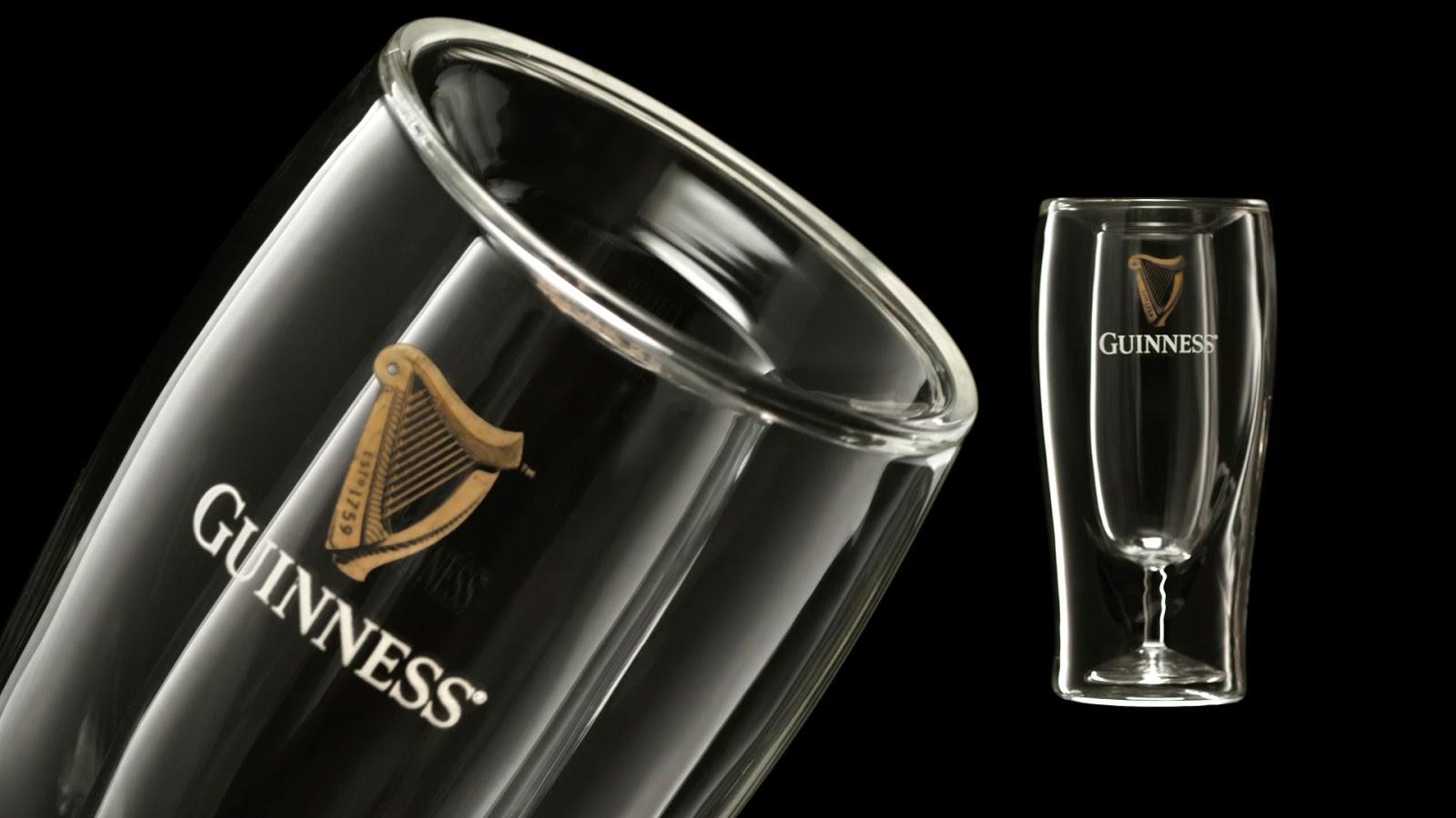 New Guinness Glass Design