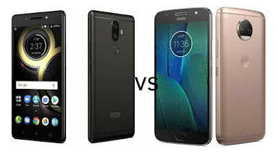 Lenovo K8 Note vs Moto G5S Plus