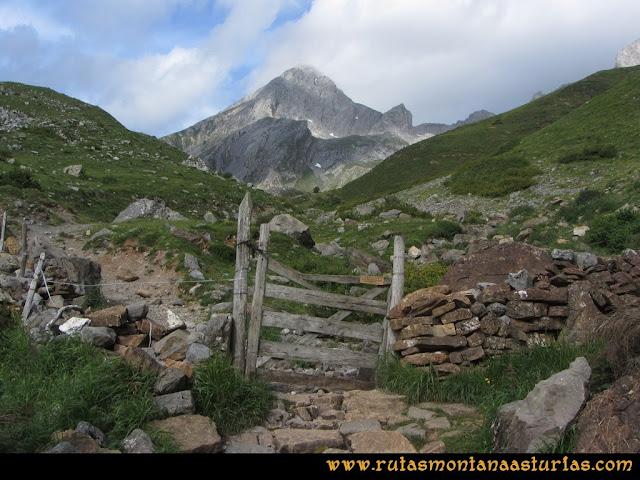 Ruta Peña Cerreos y Ubiña Pequeña: Vista de Peña Mea
