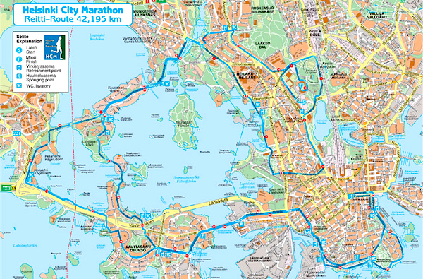2 Maraton Espooseen Ja Takaisin Hcm 2001 Pik K Uliten