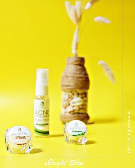 Review eBright Skin: Skincare Untuk Bruntusan