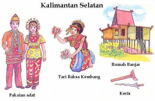 Pakaian Adat Kalimantan Selatan khas Banjar ( Artikel Lengkap )