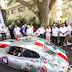 Inauguran Mauricio Vila y Felipe Calderón el Rally Maya México 2019
