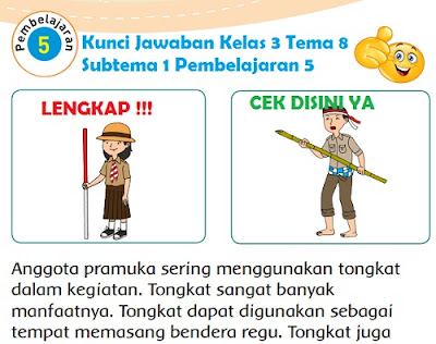Kunci Jawaban Kelas 3 Tema 8 Subtema 1 Pembelajaran 5 www.simplenews.me