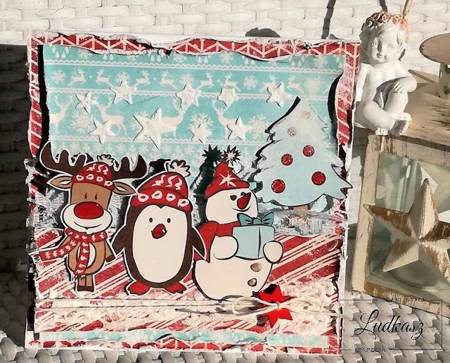 Kartki świąteczne – DT Craft Style