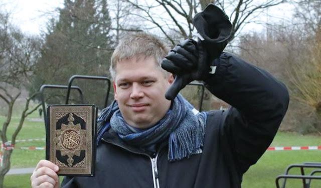 Ketua Partai Garis Keras Pembakar Al-Qur'an Ditangkap di Jerman