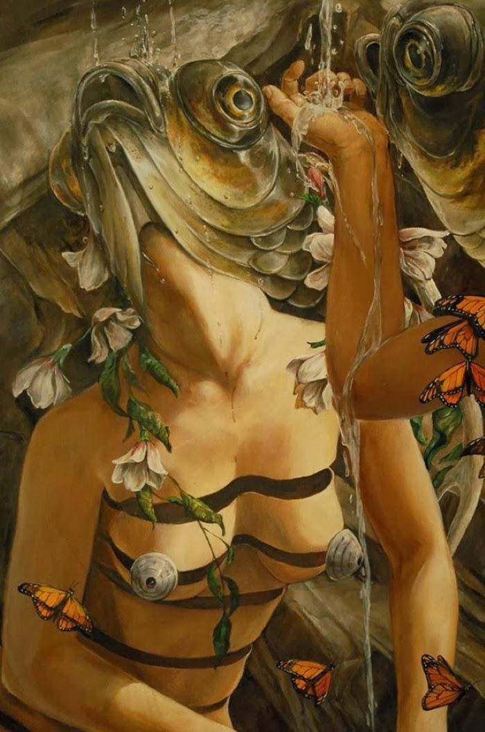 Образ женщины и сюрреализм. Hannah Yata