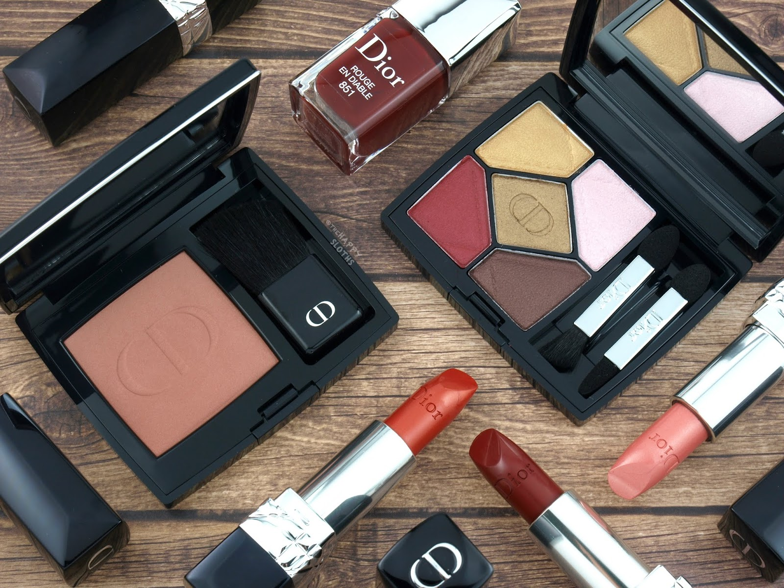 Dior | Fall 2018 Dior en Diable Collection: Review and Swatches