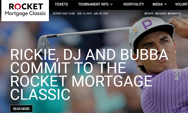 Rocket Mortgage Classic and Other Things Regarding the Golf Tournaments