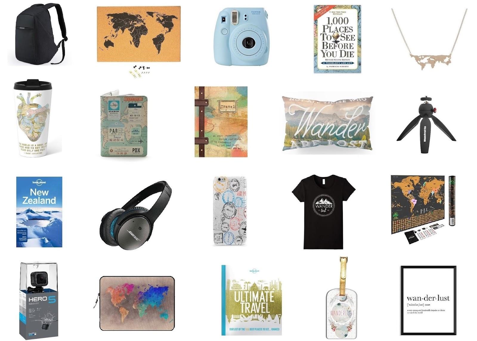 20 Gift Ideas for the Travel Obsessed | Krysti Jaims