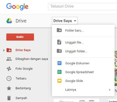 Memindahkan Data Komputer Ke Google Drive Cara Belajar Ari