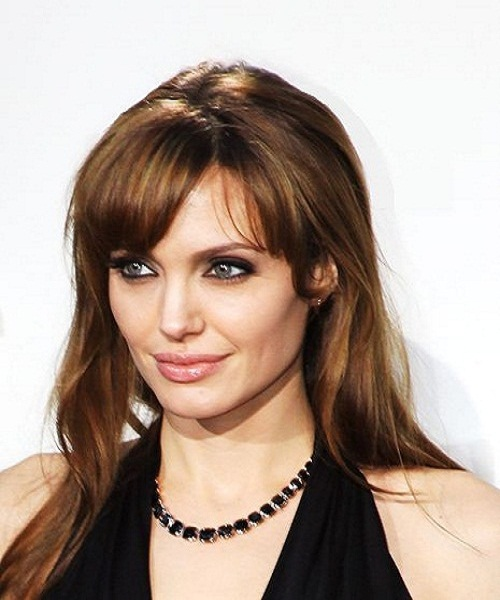 Angelina Jolie's elegant eye makeup