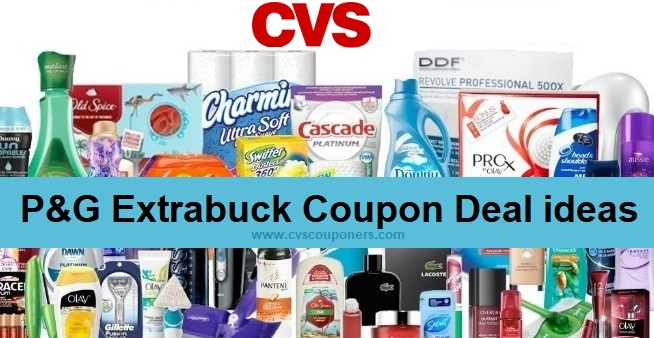 P&G Extrabuck Coupon CVS Deals 12/29-1/4